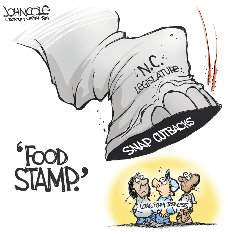 LOCAL NC Food stamp cuts