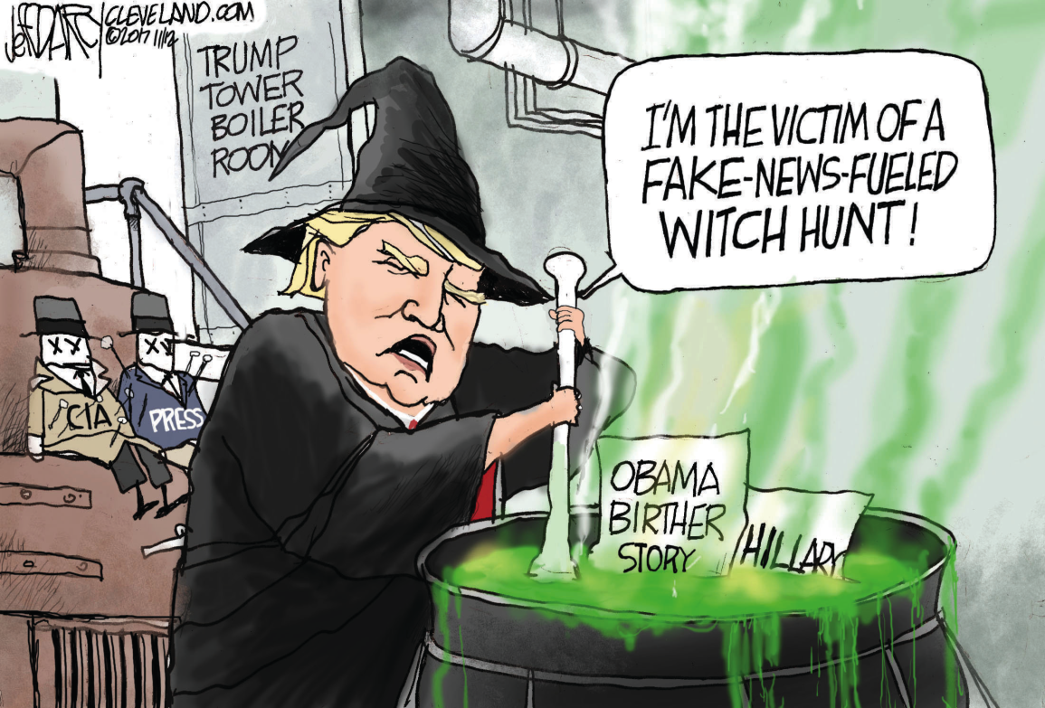 Image result for donald trump witch hunt