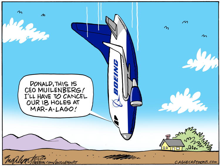 Boeing doing down