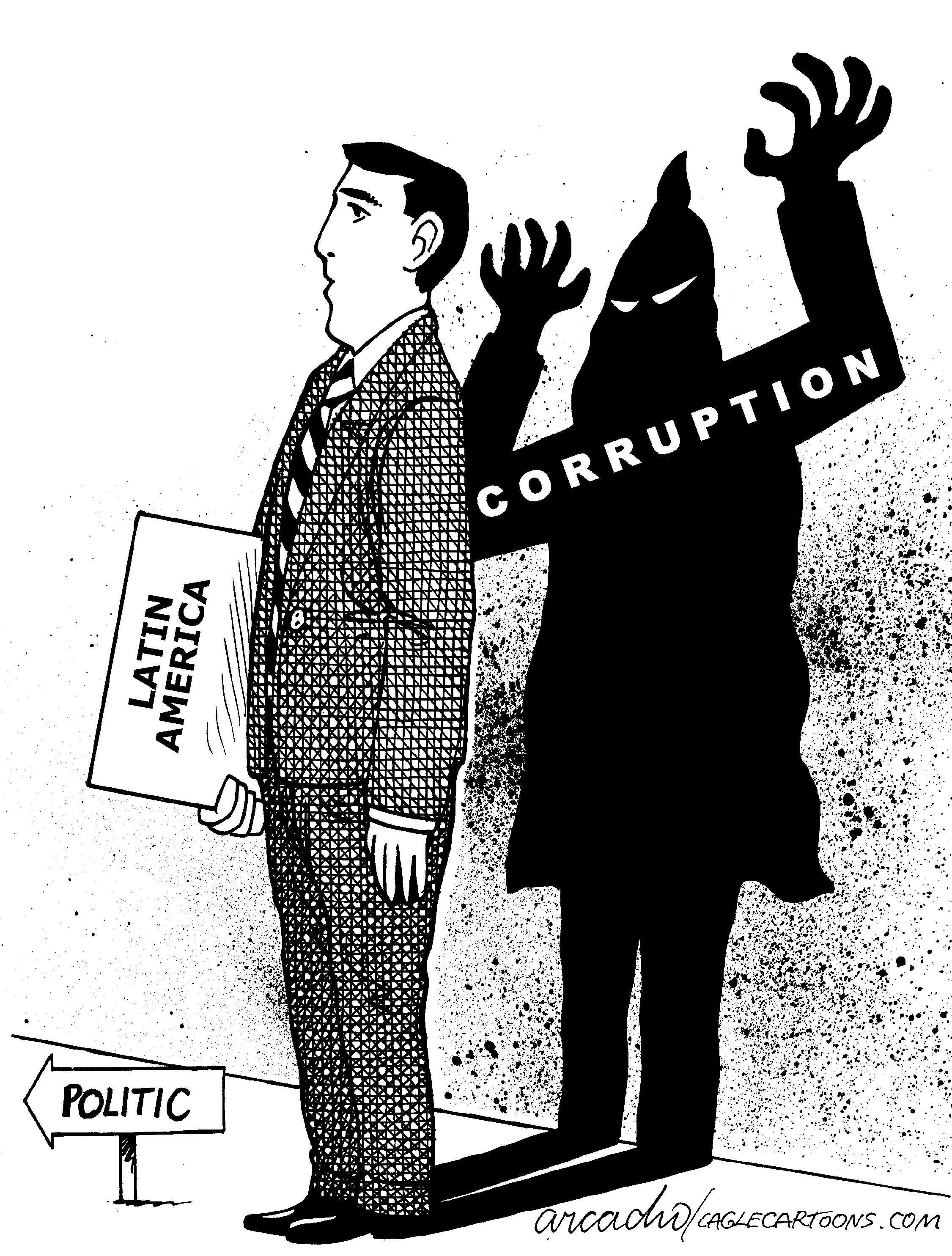 Convention protests  by John Cole