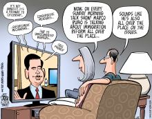 Rubio And Immigration  by Jeff Parker