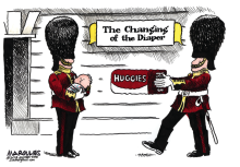 Royal Baby color by Jimmy Margulies