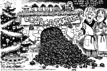 Coal Exporters by Milt Priggee