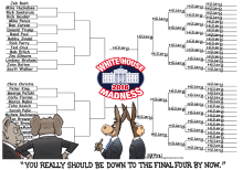 Republicans Struggle With Election 2016 Brackets- by RJ Matson