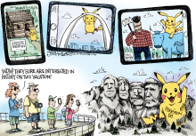 Pokemon Go by Joe Heller