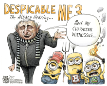 LOCAL NY State Carl Paladino  by Adam Zyglis