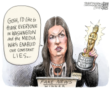 Fake News Awards  by Adam Zyglis