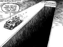 NRA and Gun Violence by Kevin Siers