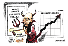 Stephen Miller White Nationalism by Jimmy Margulies