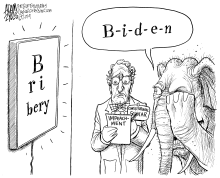Seeing the evidence by Adam Zyglis