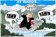 Trump Underwhelms at Davos by Monte Wolverton