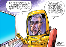 We're in good hands with Cuccinelli by Dave Whamond