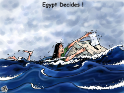 Egypt decides by Emad Hajjaj