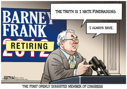 Barney Frank Announces Retirement- by RJ Matson