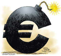 Eurobomb  by Daryl Cagle