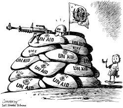 UN paralyzed in Iraq by Patrick Chappatte