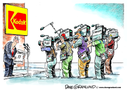 Kodak bankruptcy by Dave Granlund