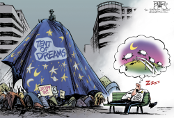 Occupy Dreams  by Nate Beeler