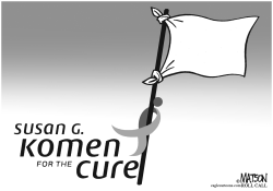 Komen Surrenders by RJ Matson