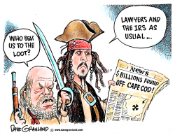 Sunken treasure billions by Dave Granlund