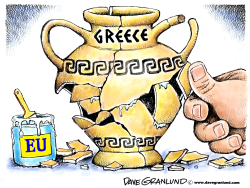 Greek debt and EU by Dave Granlund