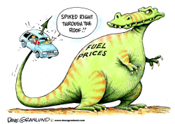 Fuel price spike by Dave Granlund