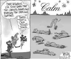 Obamas Apology Brings Calm by Gary McCoy