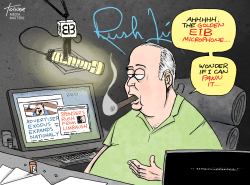 Limbaugh Advertisers by Rob Tornoe
