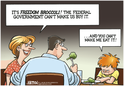 Freedom Broccoli- by RJ Matson