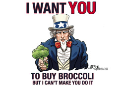 I Want You To Buy Broccoli- by RJ Matson