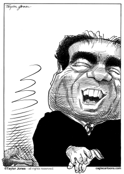 Antonin Scalia by Taylor Jones