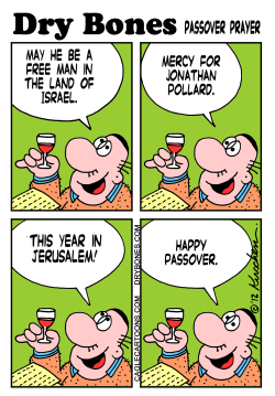 passover and pollard by Yaakov Kirschen