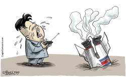 Kim Jong-un`s toy by Martin Sutovec