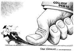 Student loan debts by Dave Granlund