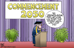 Commencement 2050 by Bruce Plante