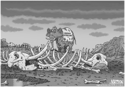 Moderate Republican Graveyard by RJ Matson
