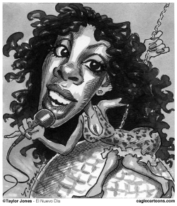 Donna Summer 1948-2012 by Taylor Jones