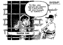 Rutger spycam/Dharun Ravi jail term by Jimmy Margulies