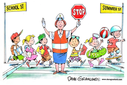 School vacation by Dave Granlund