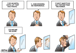 John Edwards Looks At The Man In The Mirror- by RJ Matson