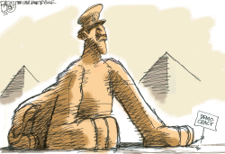 Egypt Coup by Pat Bagley