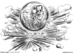The Assads - Closing in on the bubble by Taylor Jones