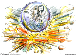 The Assads - Closing in on the bubble -  by Taylor Jones