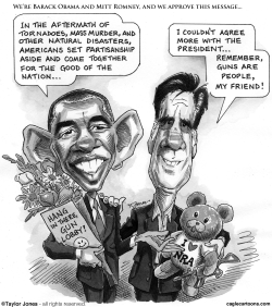 Obama and Romney finally agree by Taylor Jones