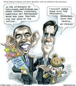 Obama and Romney finally agree -  by Taylor Jones