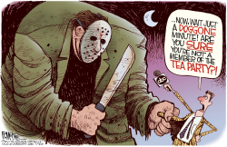 ABC Blames The Tea Party by Rick McKee