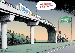 Obama Built That  by Nate Beeler