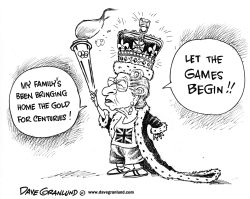 Olympic Gold by Dave Granlund