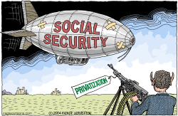Bush Fixes Social Security  by Wolverton