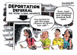 Deportation deferral color by Jimmy Margulies